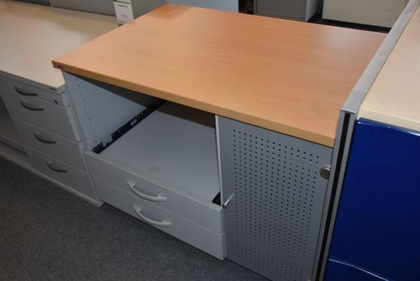 Technikboard, 1x Großraumablage, 1x Schublade, gebrauchte