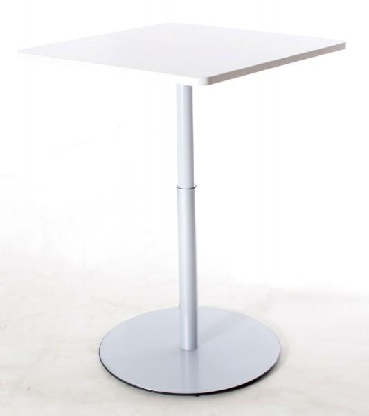 Tisch, Beistelltisch,80 x 80 cm cm, höhenverstellbar, gebrauchte Büromöbel