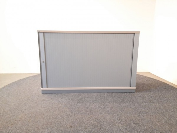 Sedus 2OH Schrank, Sideboard, Ahorn, grau, gebraucht