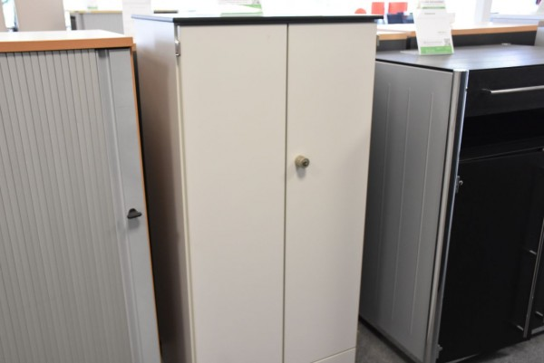 Sideboard 3OH,lichtgrau/ grau, 62,5x120 cm, gebraucht