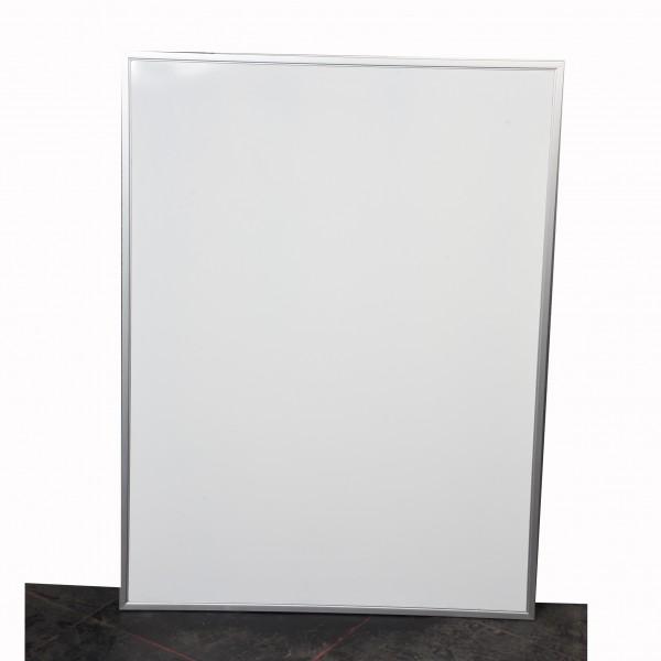 Magnetwand beschreibbar weiß silber 110 x 120 cm gebraucht Büro