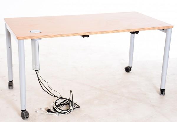 """Schreib-/ Besprechungstisch Buche, """"STEELCASE"""" Breite 160 cm, gebrauchte Büromöbel"""
