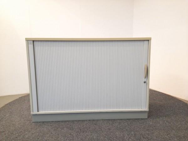 Sideboard 2OH, lichtgrau ,B/H/T  120x84x43,5 cm, gebraucht