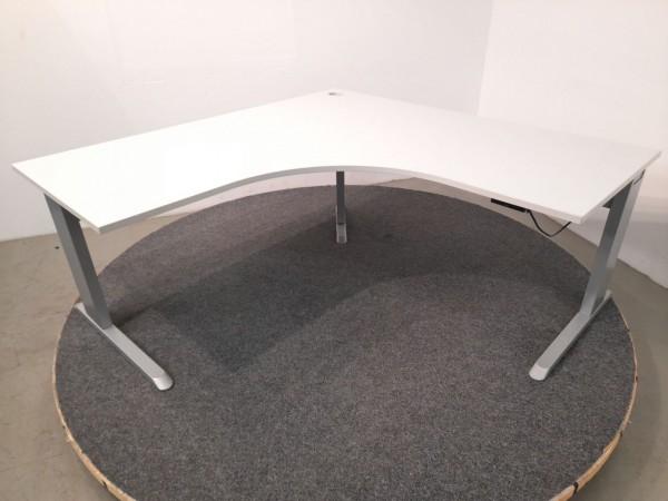 Schreibtisch 360x80, Winkelfunktion, elektrisch höhenverstellbar, gebraucht