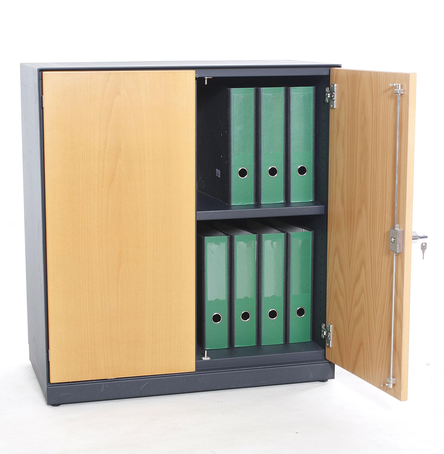 sideboard 2oh vitra b 80 x h 88 x t 42 cm gebrauchte b rom bel 100 cm breite. Black Bedroom Furniture Sets. Home Design Ideas