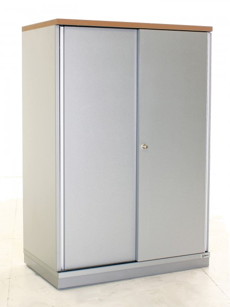 "Sideboard 3OH ""Gesika"",  B 80 x H 115 x T 43,5 cm, gebrauchte Büromöbel 35148"