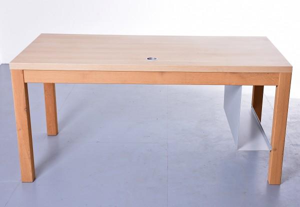 Schreibtisch 35742, 160x80 cm, gebrauchte Büromöbel