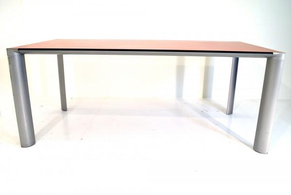 Schreibtisch, Besprechungstisch, 180x90cm, gebrauchte Büromöbel