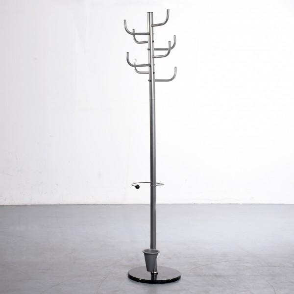Alco Standgarderobe aus Metall Höhe 172 cm Marmorfuß Schirmständer gebraucht