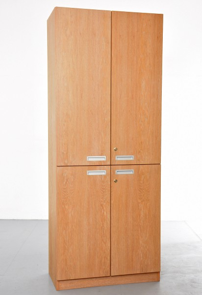 Aktenschrank 5 OH, 35736, Echtholz-Furnier, 80 cm breit, gebrauchte Büromöbel
