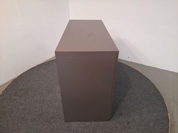MDF Design Italia Sideboard 2OH, braun, 133,5x95,5 cm, gebraucht