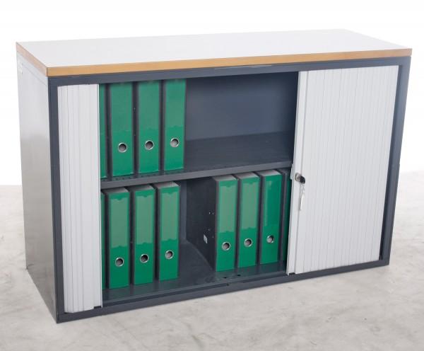 "Sideboard ""K&N"", 2 OH, 120 cm breit, gebrauchte Büromöbel"