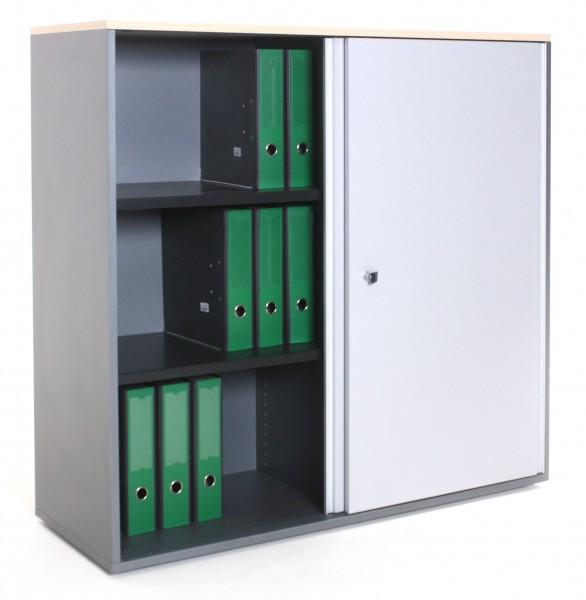"Sideboard 3OH ""STEELCASE"", B 120 x H 115 x T 43 cm, gebrauchte Büromöbel"