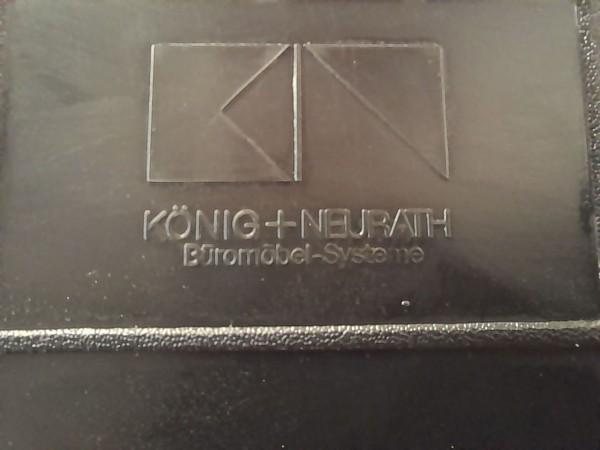 K&N Freischwinger, Stoffbezug grau, gebraucht