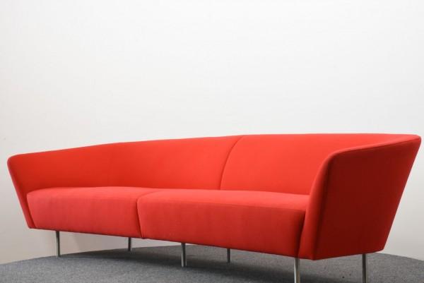 Das rote Sofa, 4 Sitzer, Bene, , gebraucht