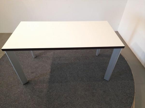 Brunner Schreibtisch 140x70cm, weiß, gebraucht