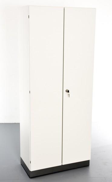 """Garderobenschrank, 35695, """"FEBRÜ"""", weiß Hochglanz, 80 cm breit, gebrauchte Büromöbel"""