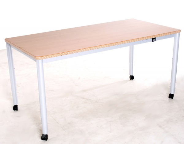 """Schreibtisch Buche, """"WERNDL"""" Breite 160 cm, gebrauchte Büromöbel"""
