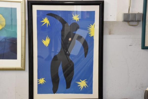 Moderne Kunst 108 x 79 cm, gebraucht
