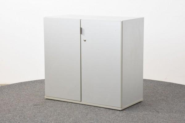 Sideboard 2OH, grau, 82x78,5 cm, gebraucht