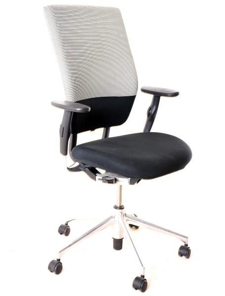 "Bürodrehstuhl ""VITRA"" Textilbezug schwarz, gebrauchte Büromöbel"