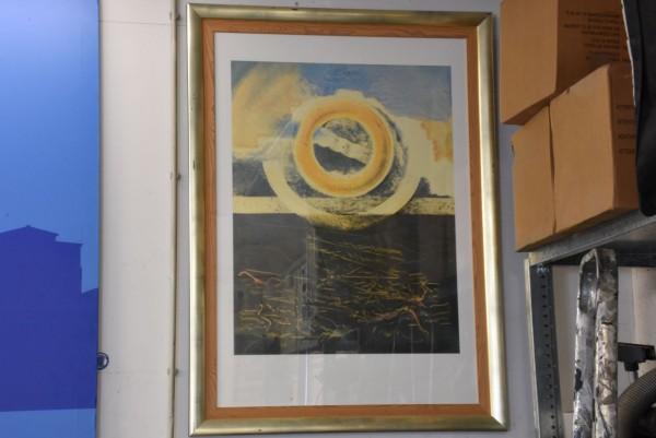gelber Kreis 113 x 83 cm, gebraucht