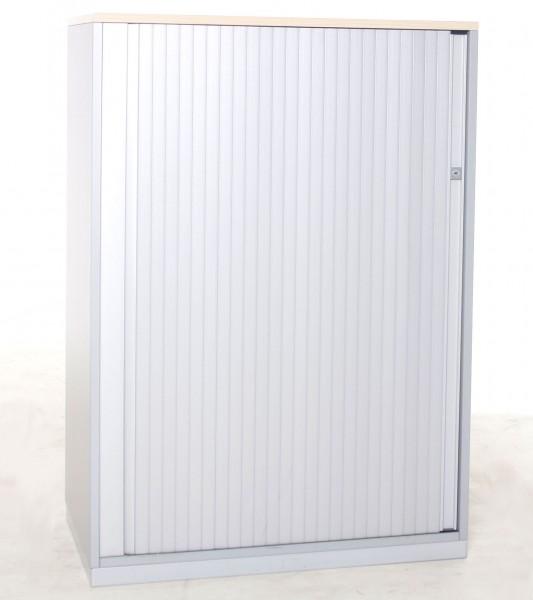 Sideboard 3OH, B 80 x H 117 x T 43,5 cm, gebrauchte Büromöbel