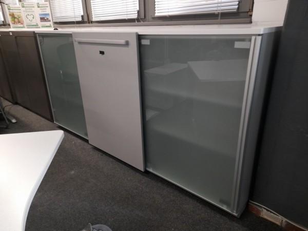 Steelcase Sideboard 3OH, 3-teilig, 240x116,5 cm, gebraucht