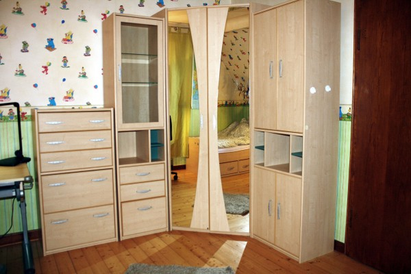 Jugendzimmer Komplett 11 Teilig 7 Schränke Bett Lampe