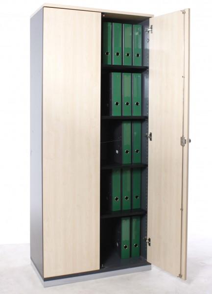 """Aktenschrank 5OH """"WERNDL"""", B 80 x H 189 x T 43,5 cm, gebrauchte Büromöbel"""