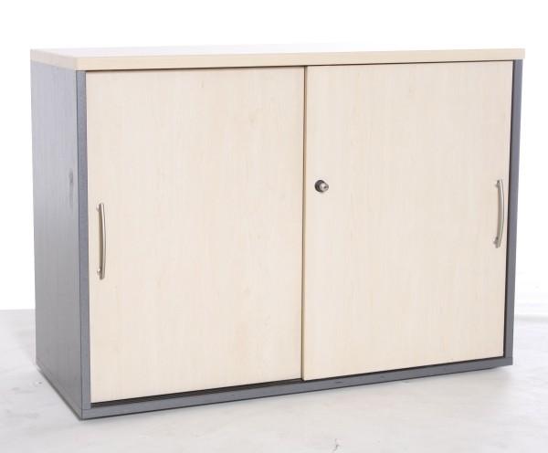 "Sideboard 2OH , ""GESIKA"" B 100 x H 73 x T 43 cm, gebrauchte Büromöbel"