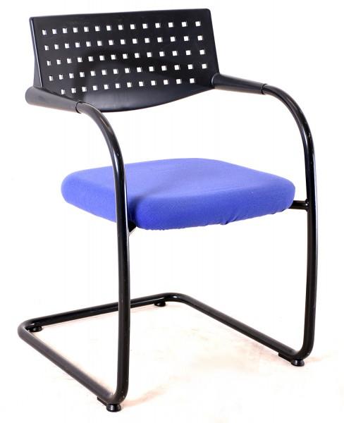 """Freischwinger """"VITRA"""" Textil, 35632, gebrauchte Büromöbel"""