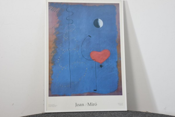 Joan Miro 101 x 71,5 cm, gebraucht