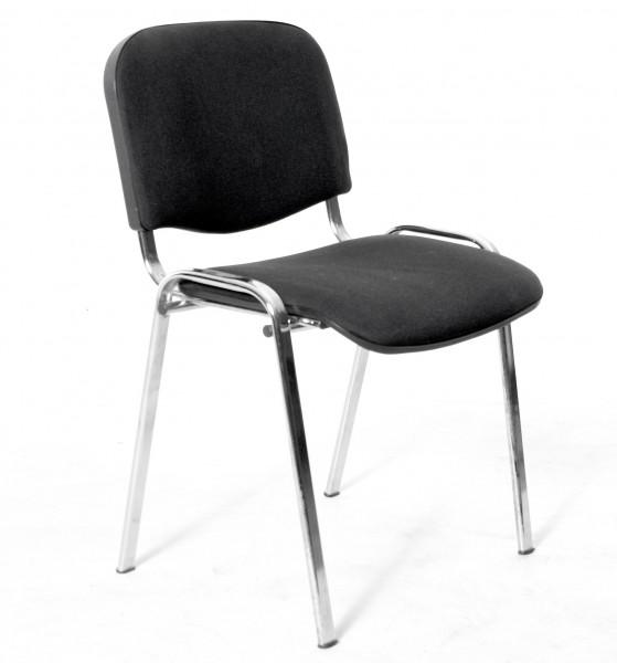 Stapelstuhl schwarz, 3er-SET, gebrauchte Büromöbel