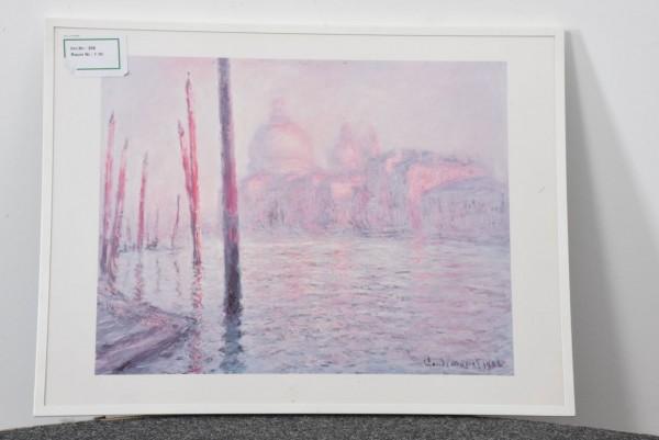 Cloude Monet 82 x 62 cm, gebraucht