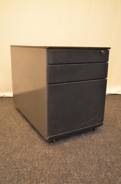 Rollcontainer Ahrend, 3x Schublade, davon 1x Hängeregister, gebrauchte Büromöbel