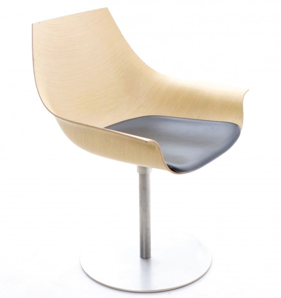"""LAPALMA"" COX Designer-Stuhl, Holz, gebrauchte Büromöbel"