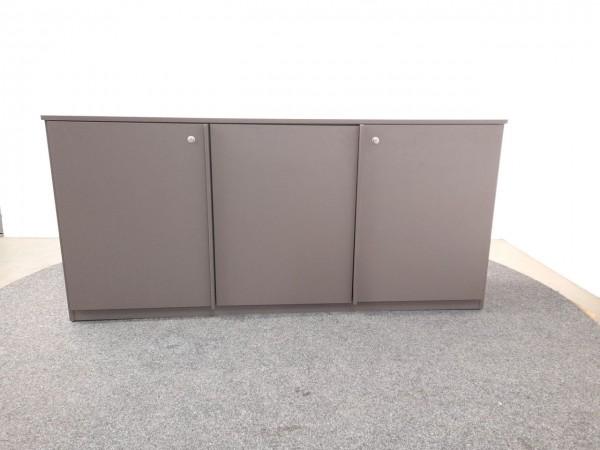 Sideboard 2OH, braun, 160x75,5 cm, gebraucht
