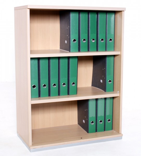 Aktenregal 3OH , B 80 x H 110 x T 43,5 cm, gebrauchte Büromöbel