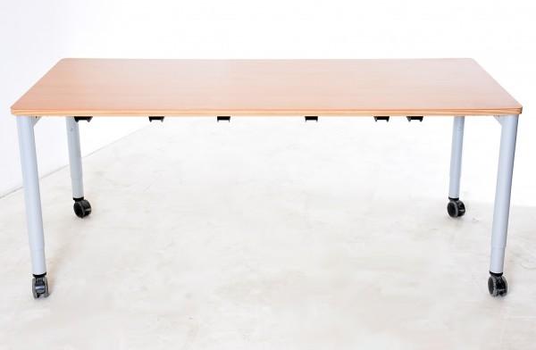 """Schreib-/ Besprechungstisch Buche, """"STEELCASE"""" Breite 180 cm, gebrauchte Büromöbel"""