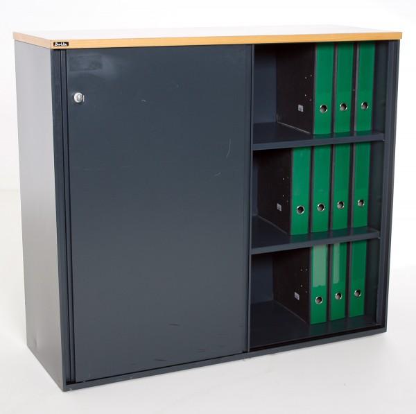 Sideboard 3 OH, 120 cm breit, gebrauchte Büromöbel