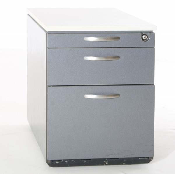 Rollcontainer, B 44 x H 59 x T 78 cm, Gebrauchte Büromöbel