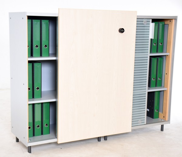 "Sideboard 3 OH, ""VS"", 161,5 cm breit, gebrauchte Büromöbel"