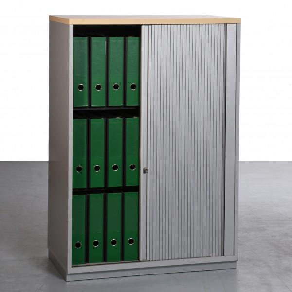 Ceka Aktenschrank 3OH  gebraucht Buche silber 44x80x120