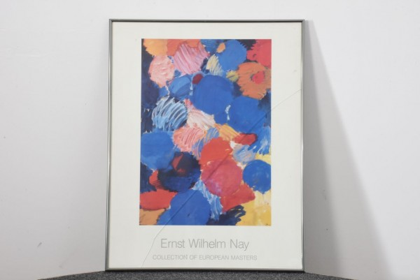 Ernst Wilhelm Nay 94 x 71 cm, gebraucht